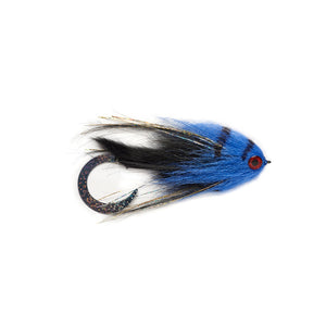 Fulling Mill Paolo's Wiggle Tail Bunny Black & Blue