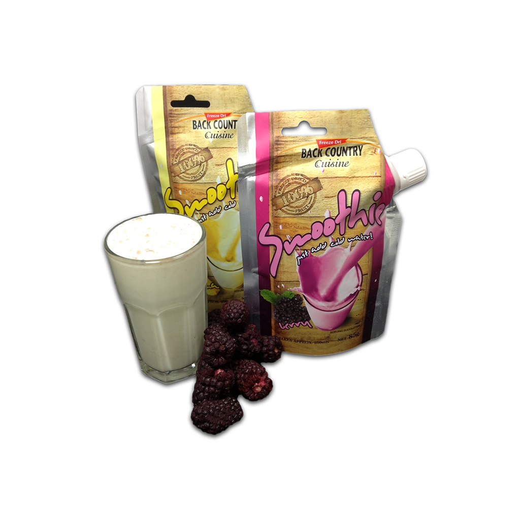 BackCountry Cuisine Freeze Dried Fruit Smoothie