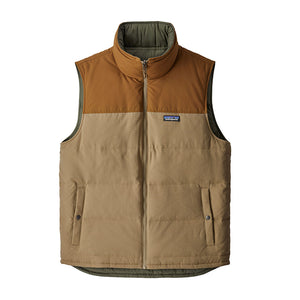 Patagonia Men's Reversible Bivy Down Insulated Vest MJVK - Front 01
