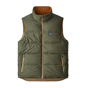 Patagonia Men's Reversible Bivy Down Insulated Vest MJVK - Front 02