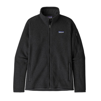 Patagonia Women's Better Sweater Fleece Jacket BLK - Front