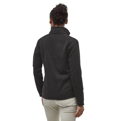 Patagonia Women's Better Sweater Fleece Jacket BLK - Model Back