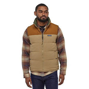 Patagonia Men's Reversible Bivy Down Insulated Vest MJVK - Model Front 01