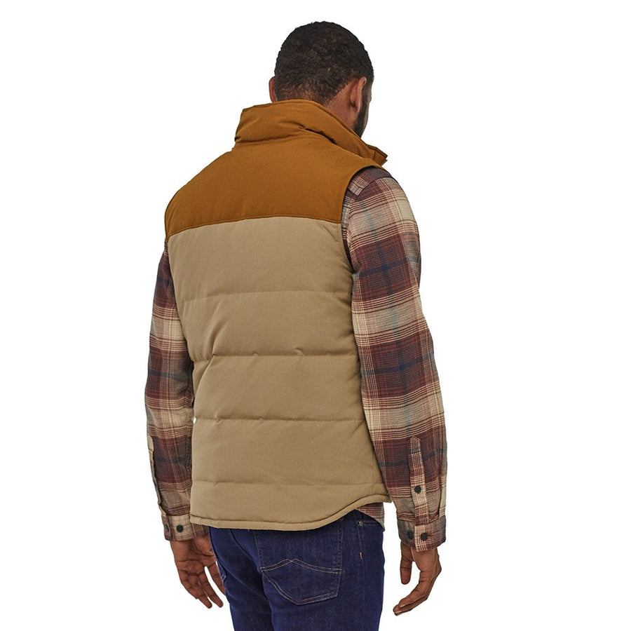 Patagonia Men's Reversible Bivy Down Insulated Vest MJVK - Model Back 01