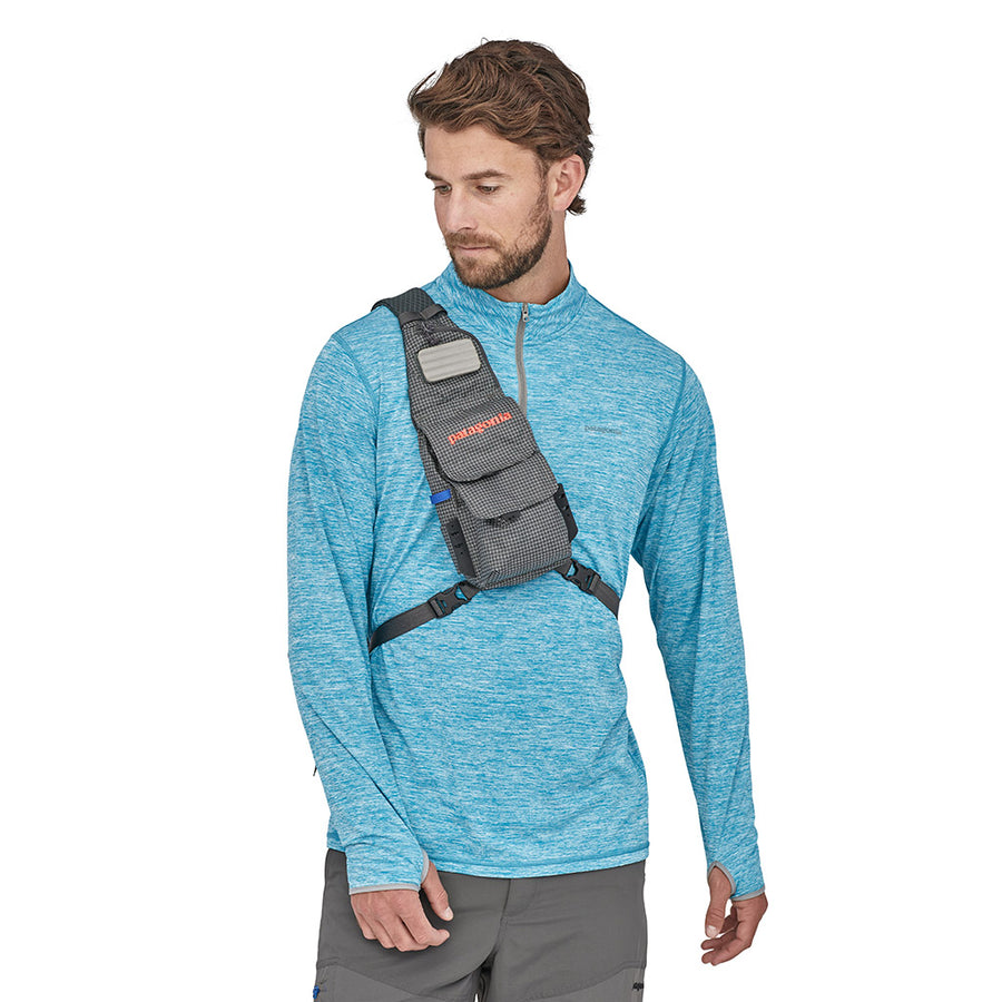 Patagonia Fly Fishing Vest Front Sling FGE - Model Front