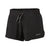 Patagonia Women's Nine Trails Shorts BLK - Hero