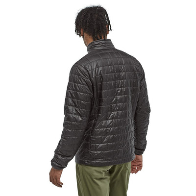 Patagonia Men's Insulated Nano Puff Jacket BLK - Back