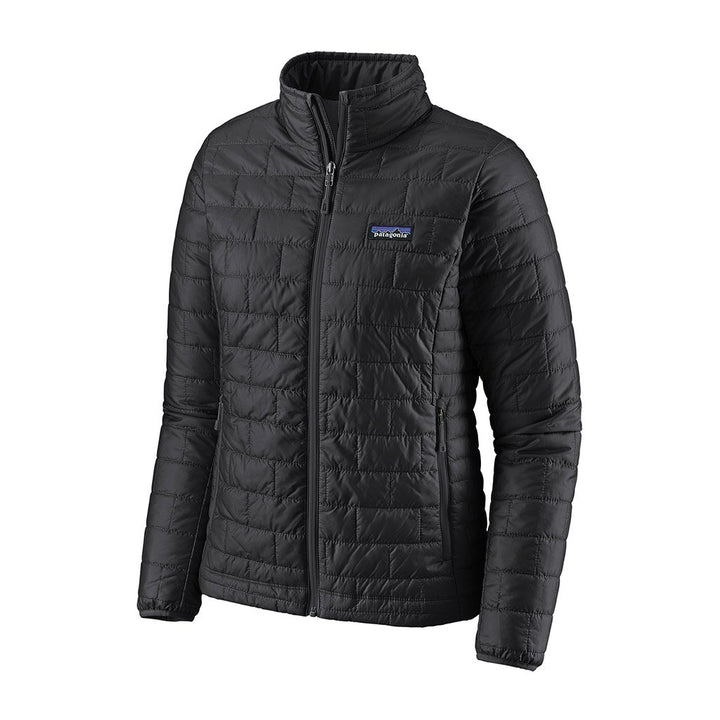 Patagonia Women's Nano Puff Insulated Jacket BLK - Hero