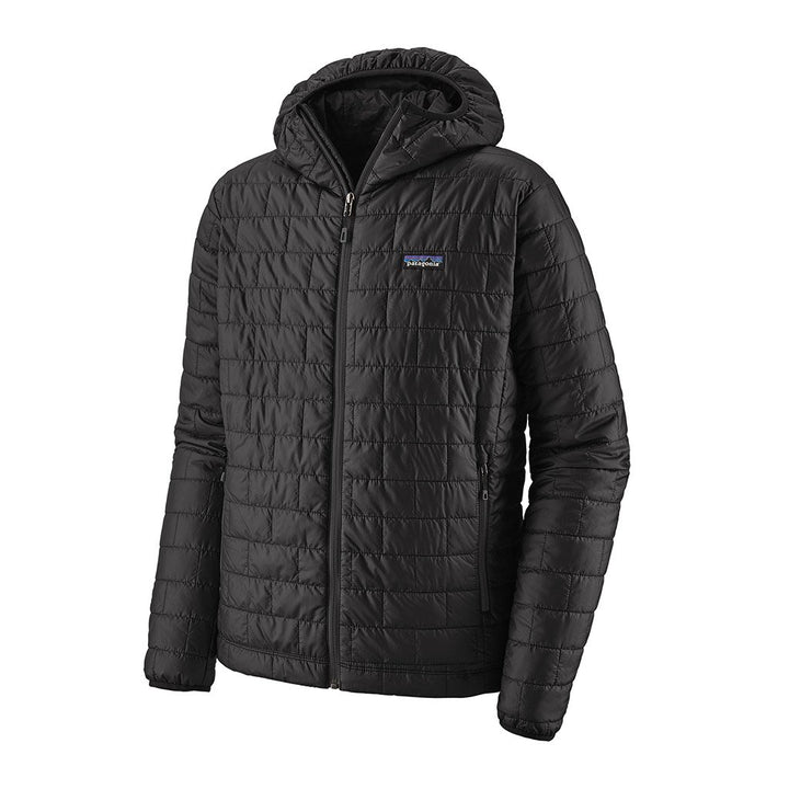 Patagonia Men's Insulated Nano Puff Hoody BLK - Hero