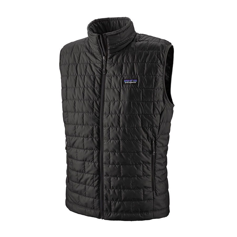 Patagonia Men's Nano Puff Insulated Vest BLK - Hero