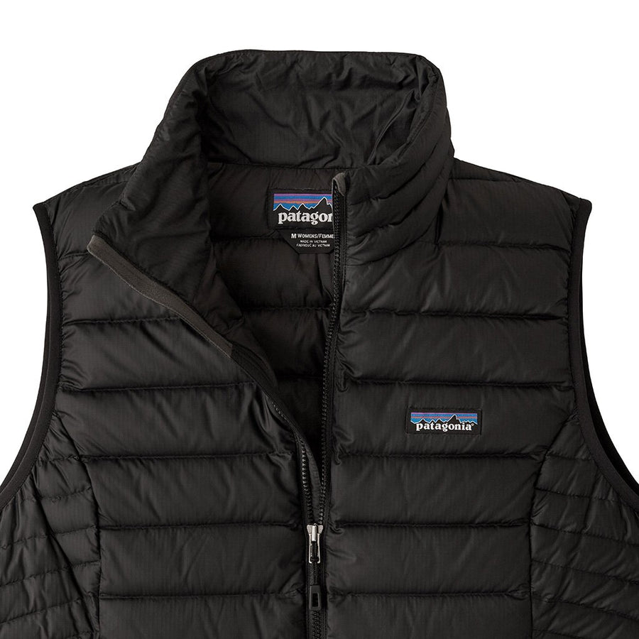 Patagonia Women's Down Sweater Vest Black 3