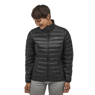 Patagonia Women's Down Insulated Sweater - Black Model 1