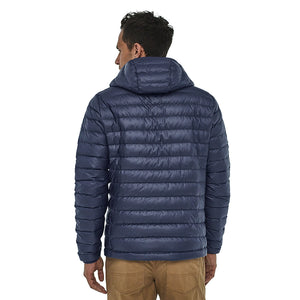 Patagonia Men's Down Insulated Sweater Hoody - Classic Navy - Model 1