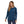 Load image into Gallery viewer, Women's Long-Sleeved Pastel P-6 Logo Responsibili-Tee - Crater Blue 5