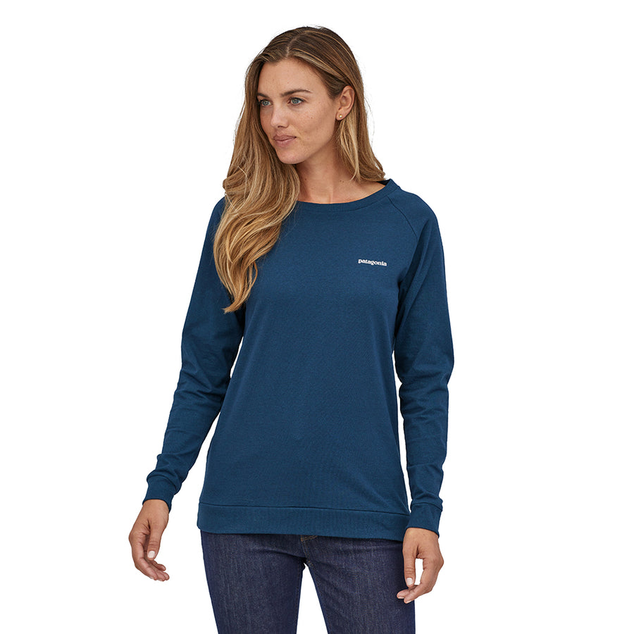 Women's Long-Sleeved Pastel P-6 Logo Responsibili-Tee - Crater Blue 5