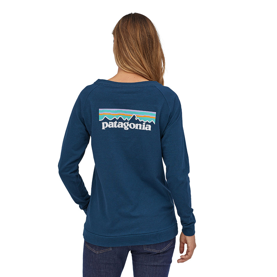 Women's Long-Sleeved Pastel P-6 Logo Responsibili-Tee - Crater Blue 4