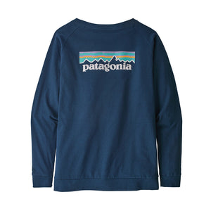 Women's Long-Sleeved Pastel P-6 Logo Responsibili-Tee - Crater Blue 2