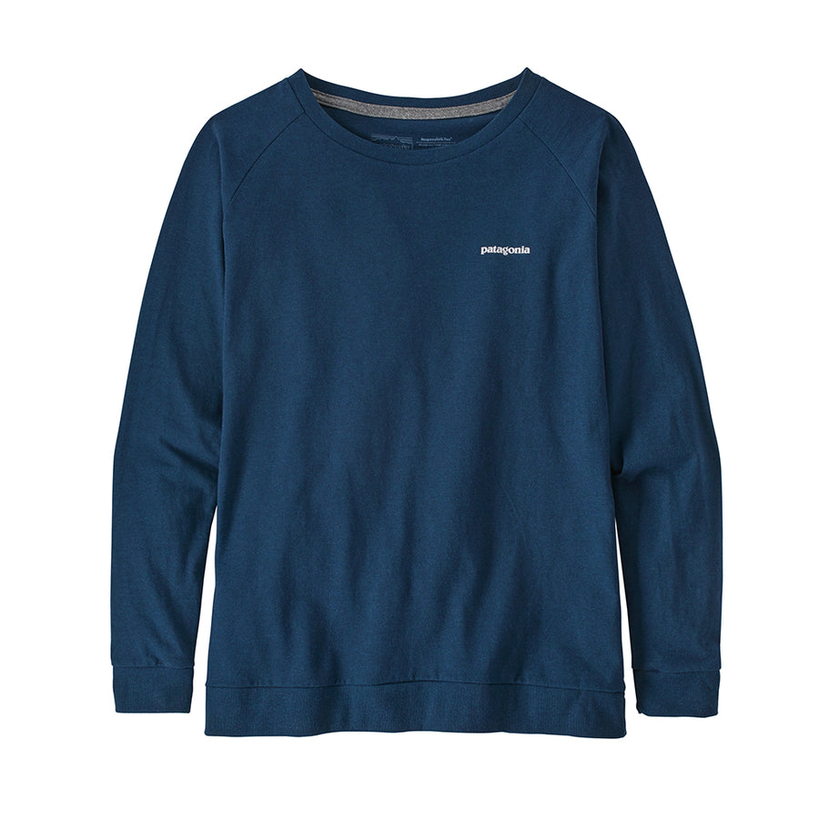 Women's Long-Sleeved Pastel P-6 Logo Responsibili-Tee - Crater Blue 1