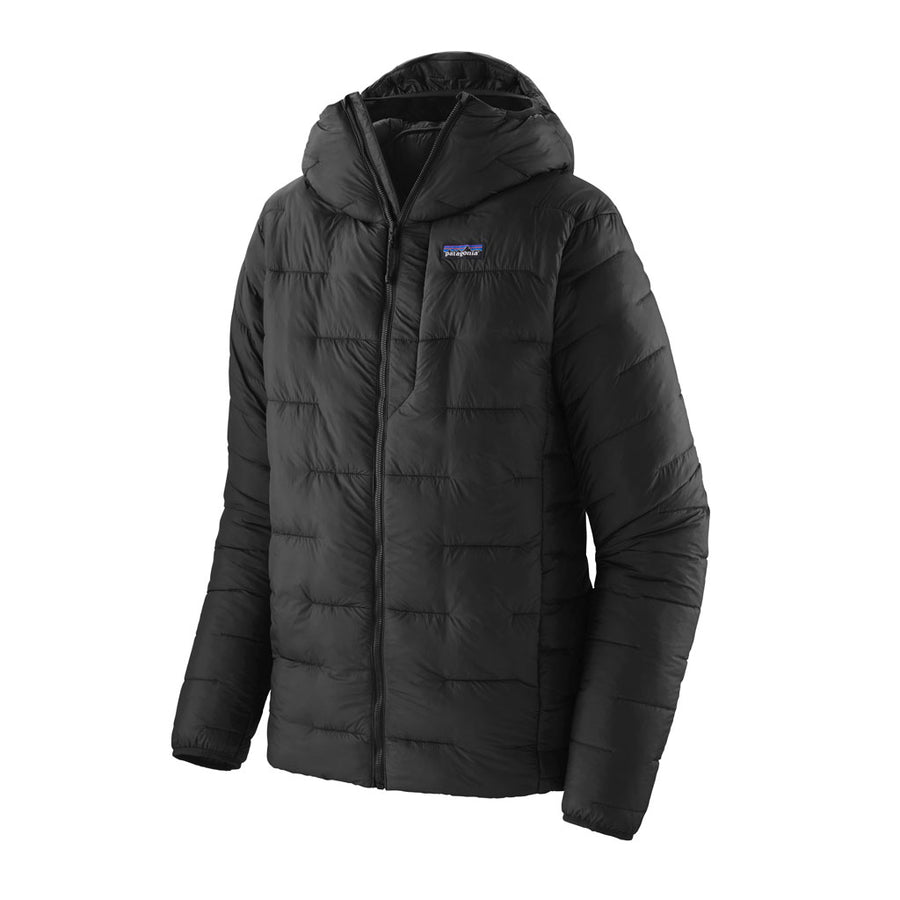 Patagonia Men's Macro Puff Hoody - Black Hero