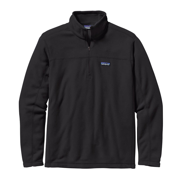 Patagonia Men's Micro D Pullover BLK - Front