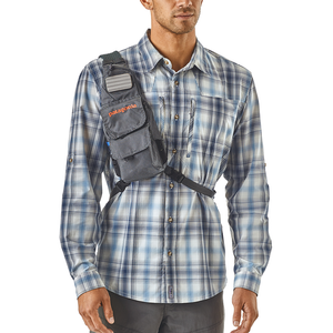 Patagonia Fly Fishing Vest Front Sling Forge Grey Model Front