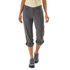 Patagonia Women's Quandary Pants FGE Model - Front Rolled