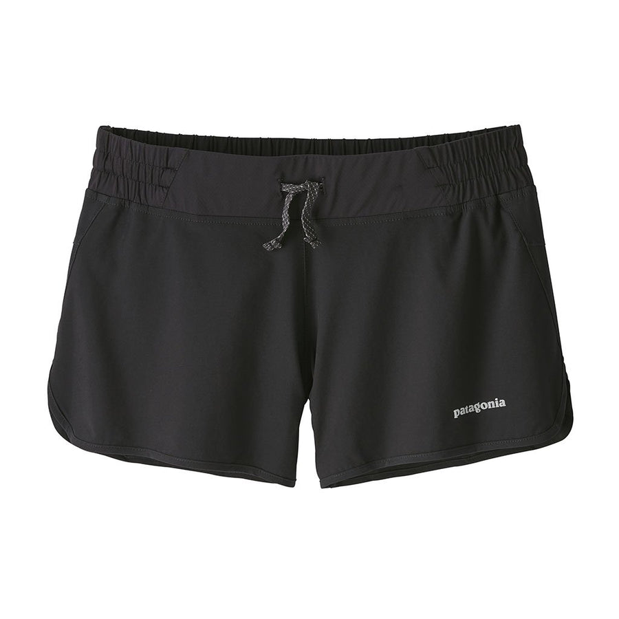 Patagonia Women's Nine Trails Shorts BLK - Front
