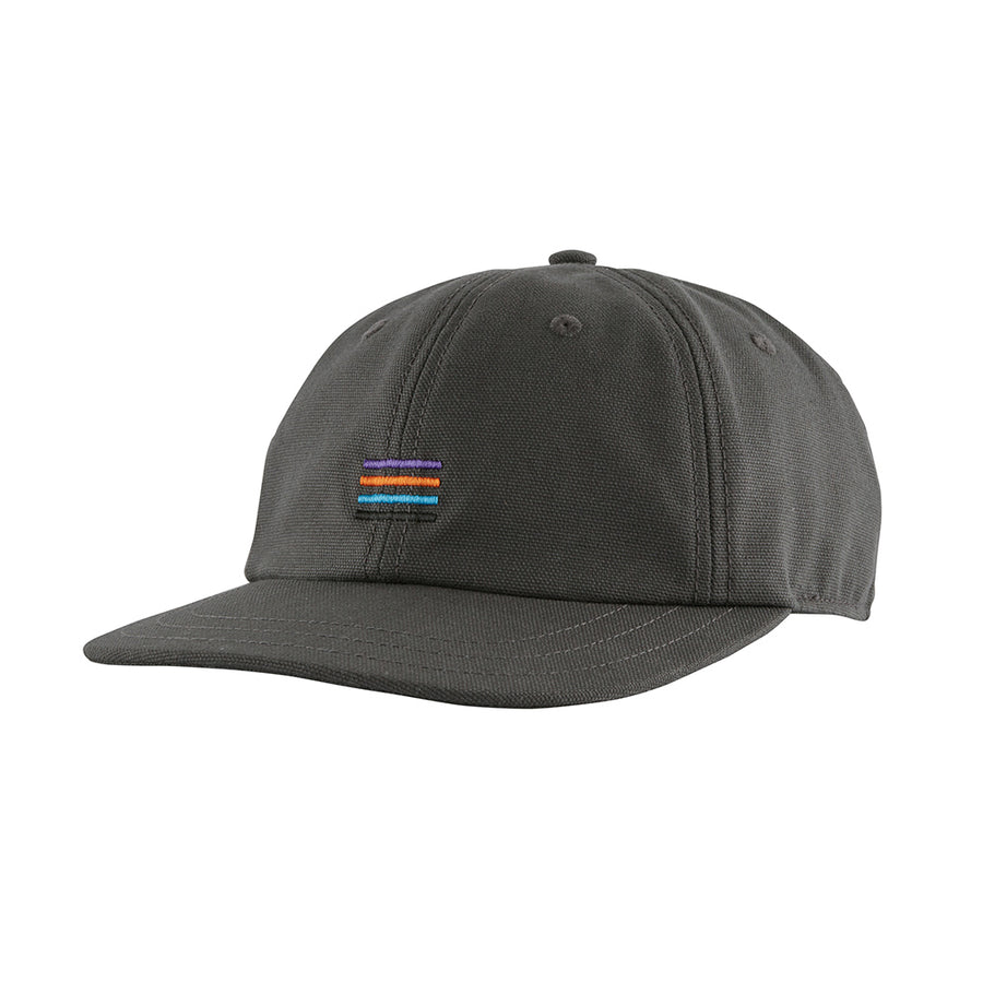 Patagonia Stand Up Cap - Stripes: Forge Grey - Front