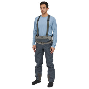 Patagonia Men's Swiftcurrent Waders model waders waist