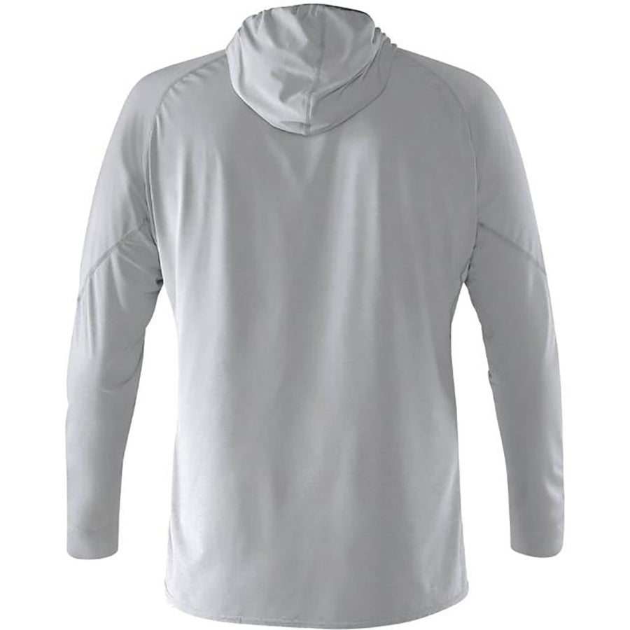 NRS Men's H2Core Silkweight Hoodie - quarry detail 3