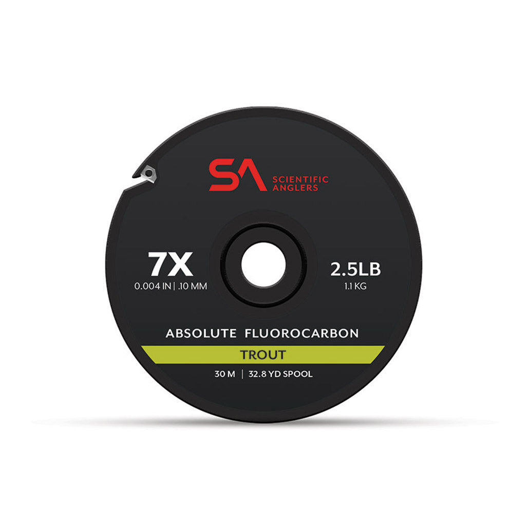 Scientific Anglers Absolute Trout Fluorocarbon Tippet 30m