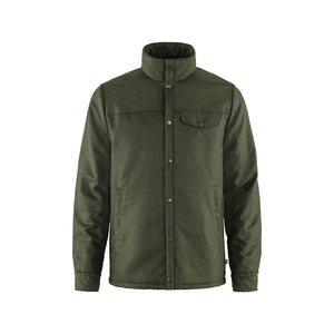 Fjallraven Men's Canada Wool Padded Jacket Forest - Front