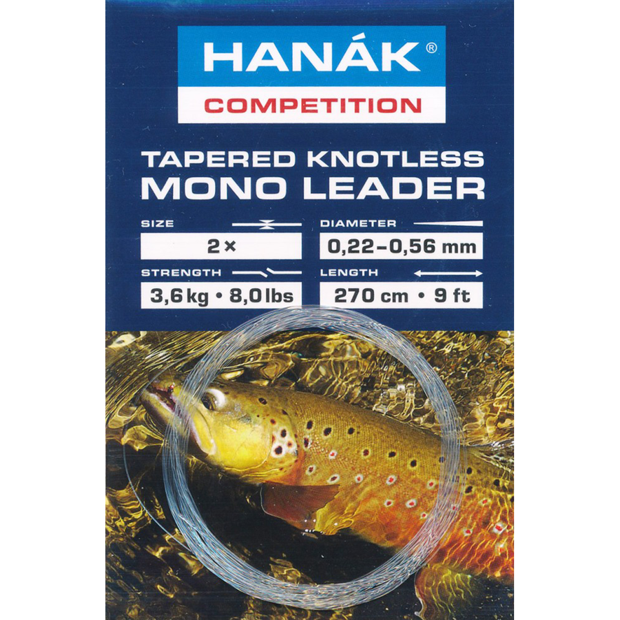 Hanak Tapered Knotless Mono Leader