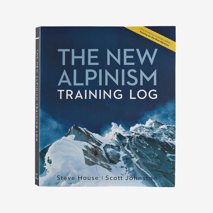 The New Alpinism Training Log - cover