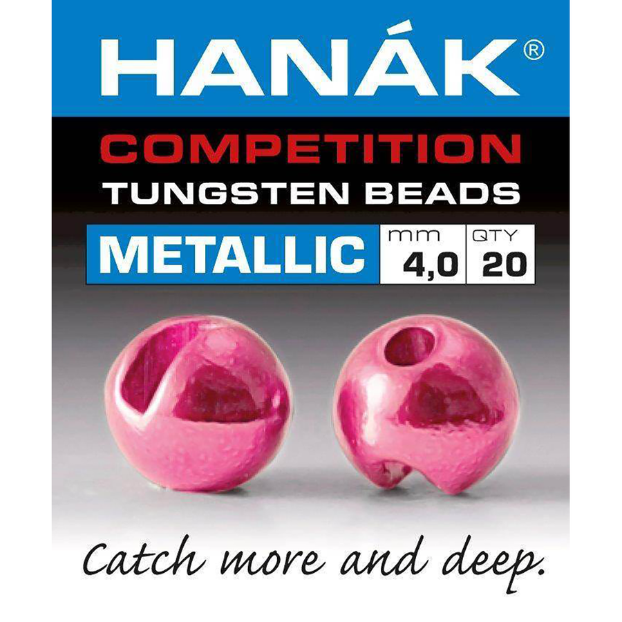 Hanak Competition Tungsten Beads / Metallic (20 PCS)