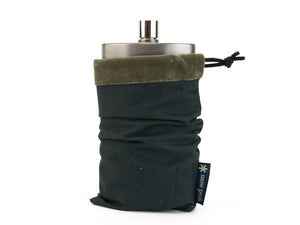 Snow Peak Titanium Hip Flask - Sleeve 02