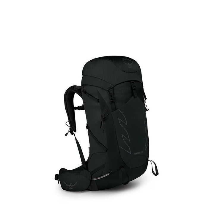 Osprey Tempest 30 Hiking Pack stealth black hero