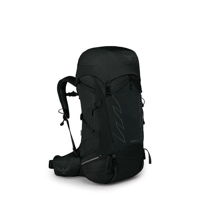 Osprey Tempest 40 Hiking Pack stealth black hero