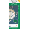 Toolong Range 8525-1N 1:25K NSW Topographic Map