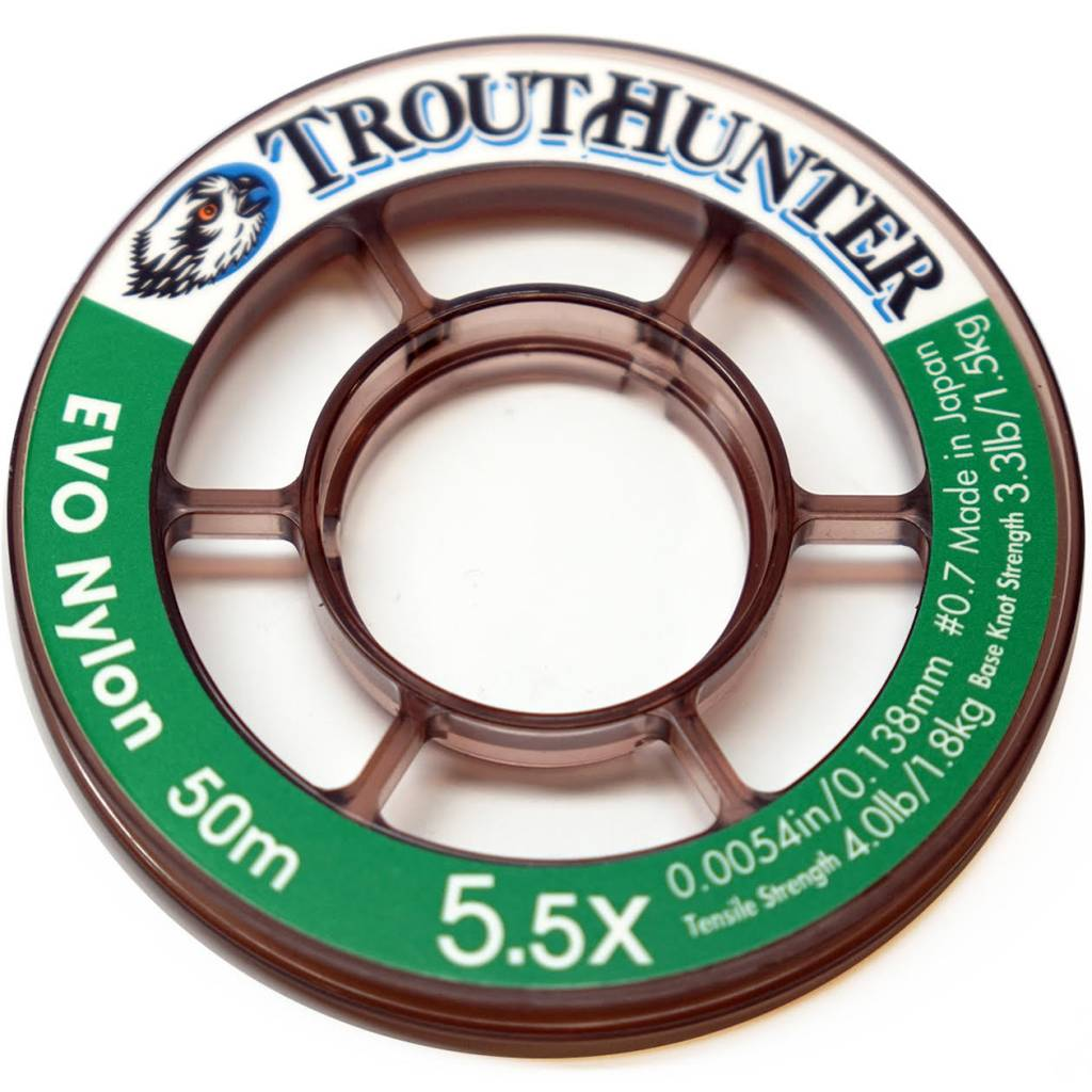 Trout Hunter Evo Nylon Tippet  50m