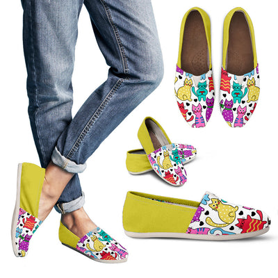 Womens's Summer Cat Vibrant Gorgeous Shoes