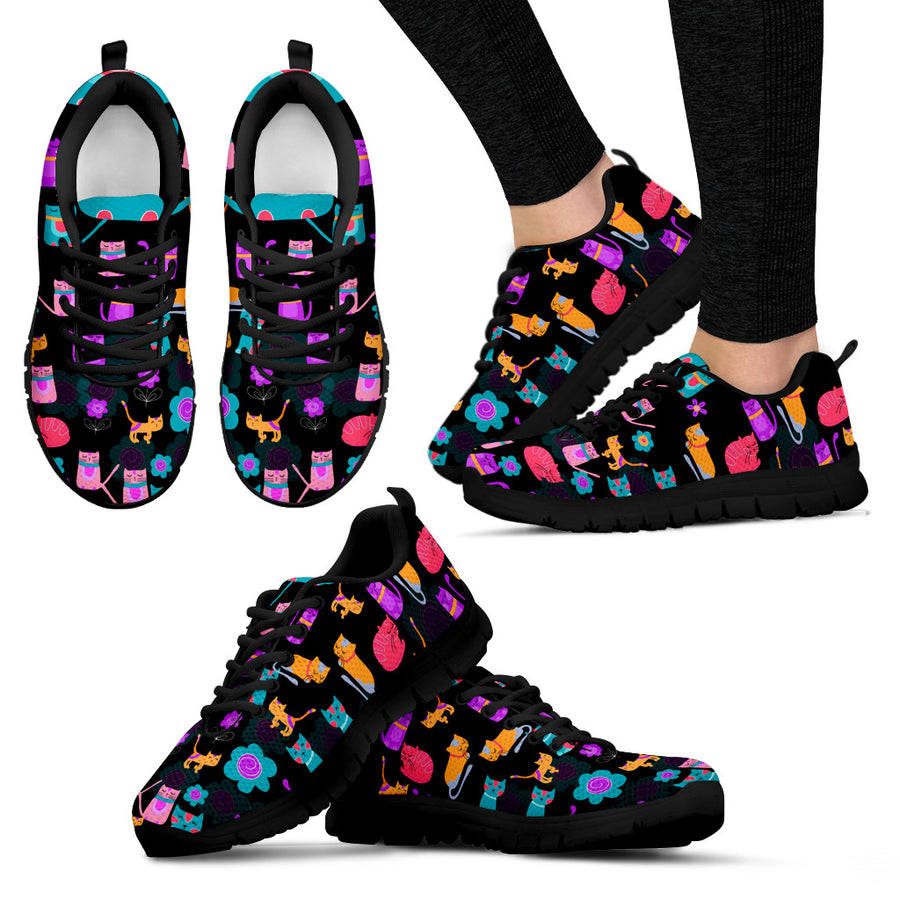 40%OFF-My Sweet Vivid Kitten Women's Sneakers