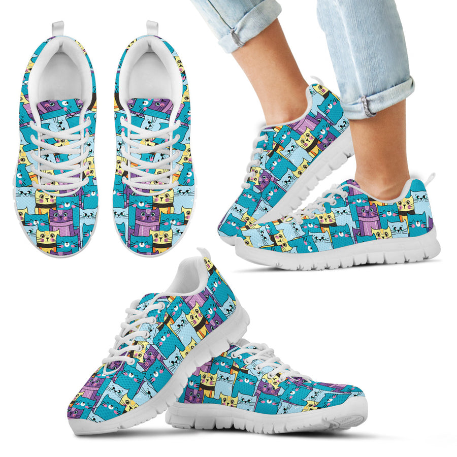 Fabulous Kittens Kid's Sneakers