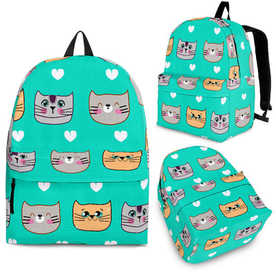 Funny Cats Pattern Backpack
