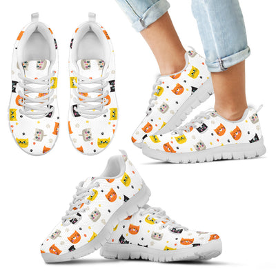 Funny Cats Kid's Sneakers