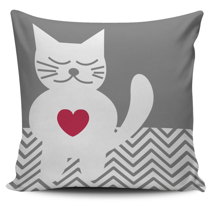 35% - Heart Warming CAT Pillow Cover