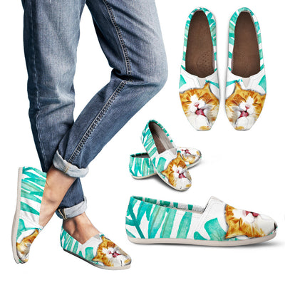 Women's Snuggly Cat Relaxed Comfy Shoes