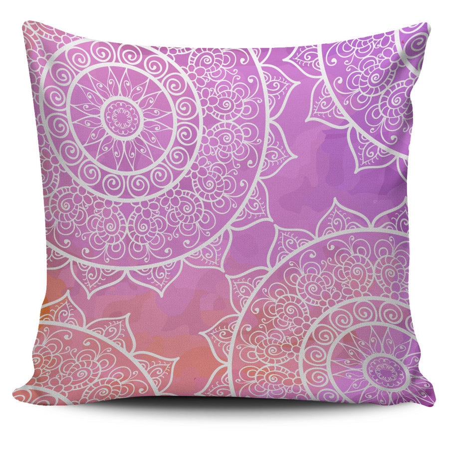 Soft Mandalas Pillow Cover - 5 Dollar Sale