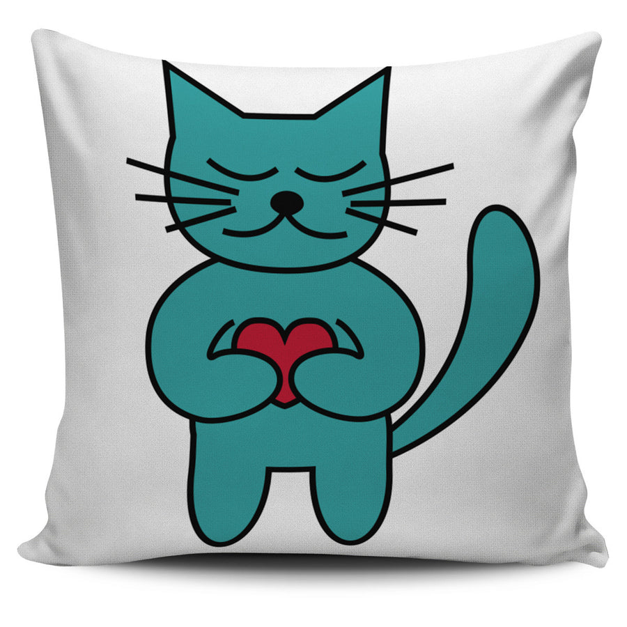 MEOW Cat Lover Pillow Covers
