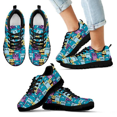 Bundle Fabulous Kittens Women's-Kids Sneakers and Backpack